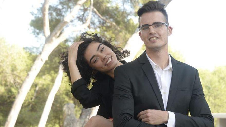 Albert y Rita, dos primos de Castelló que quieren ser los más guapos de Valencia