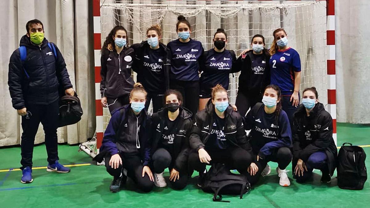 El filial pistacho y el equipo femenino sénior han recuperado la actividad