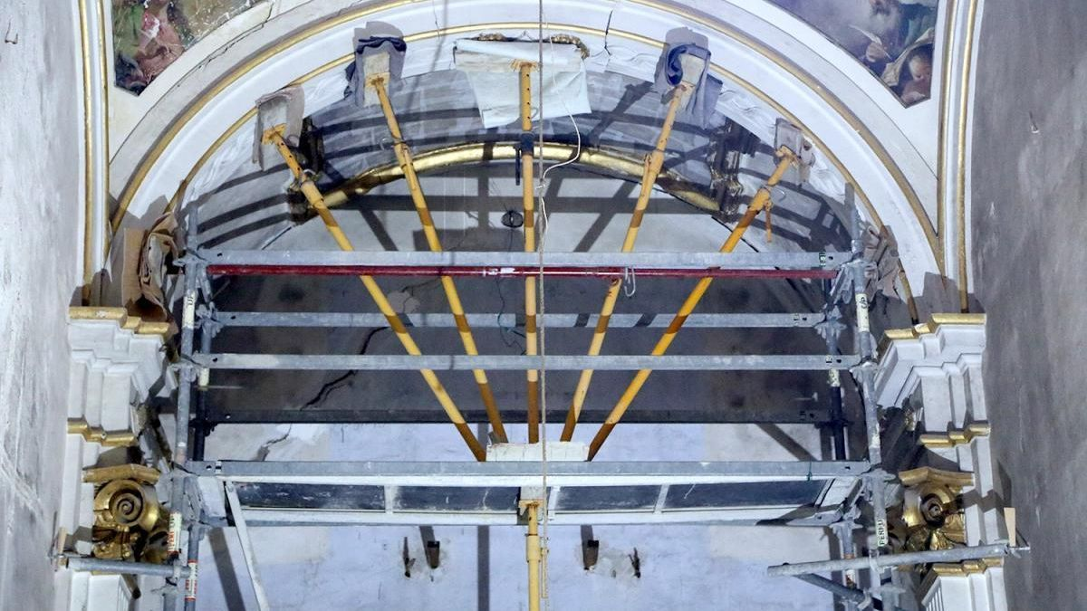 El Consistorio proyecta la segunda fase de restauración de la capilla del antiguo asilo de Los Dolores