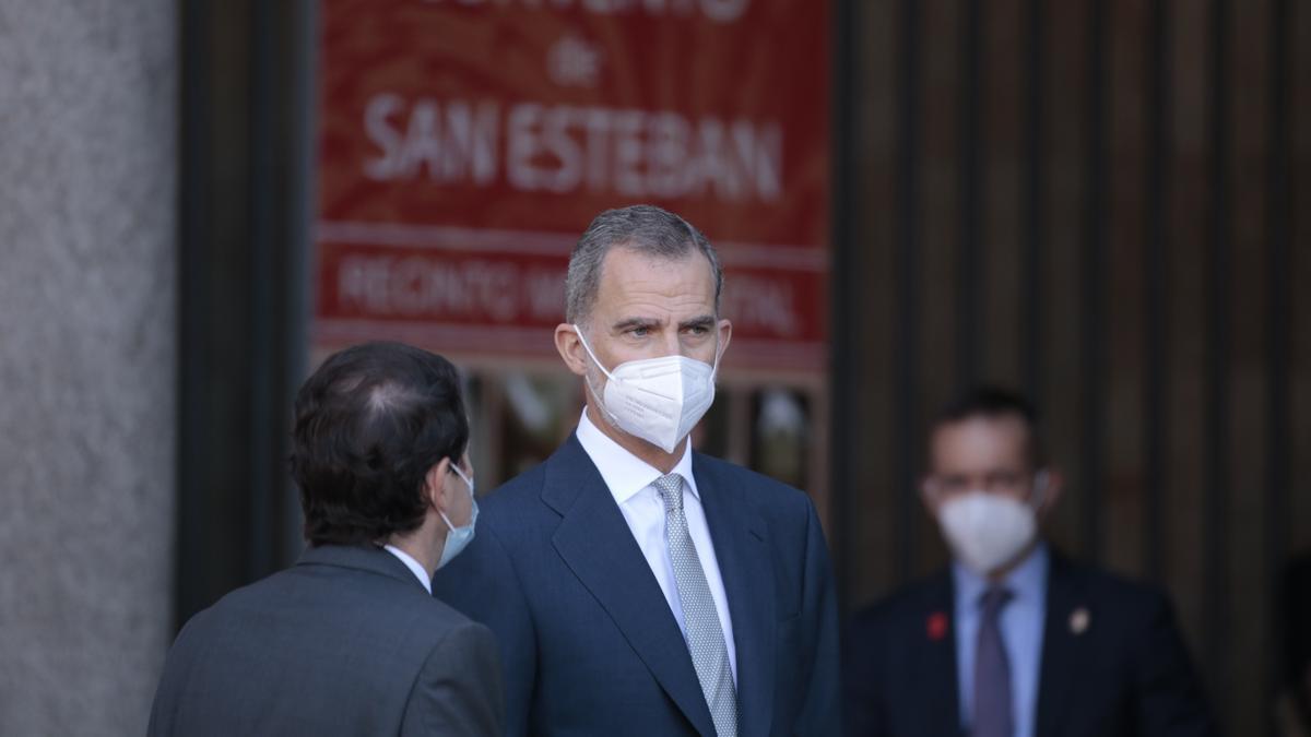 Imágenes del encuentro de presidentes en Salamanca