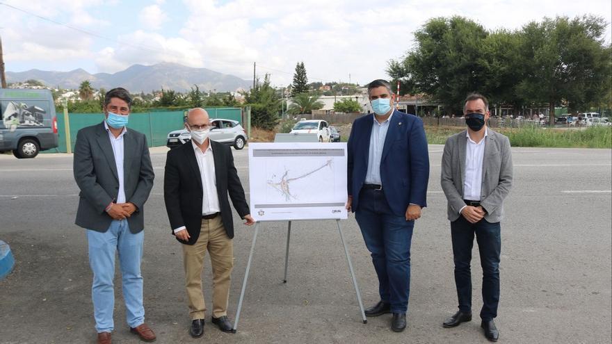 Mijas licita el inicio del desdoblamiento del Camino de Campanales por 3 millones de euros