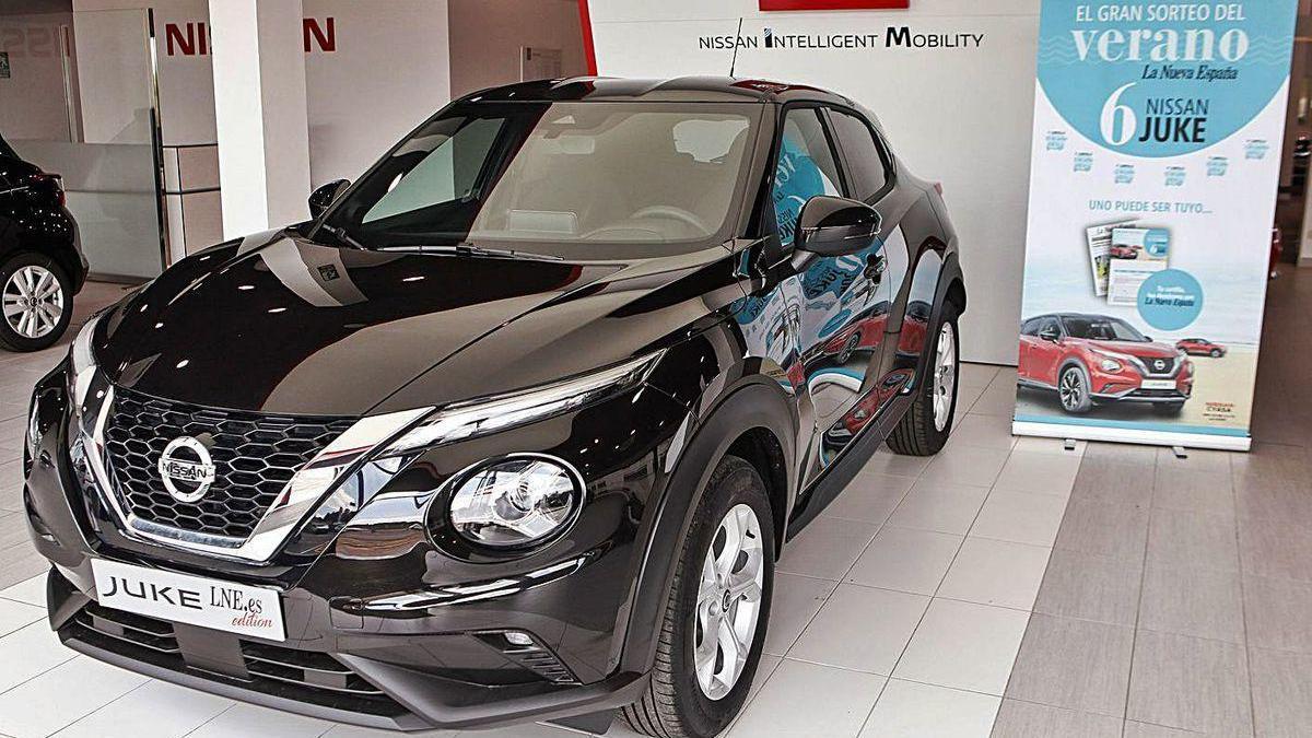 Imagen del Nissan Juke que pueden llevarse los lectores de LNE este verano.