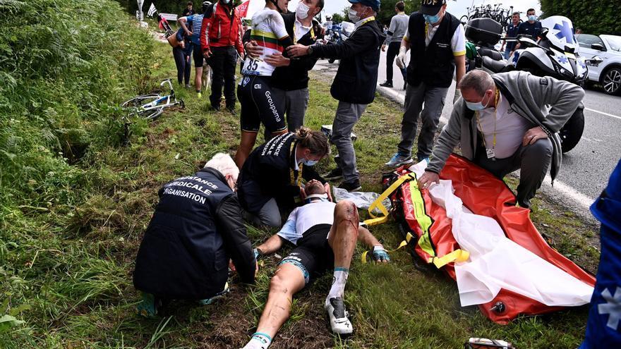 El Tour de Francia retira la denuncia contra la espectadora que provocó la caída