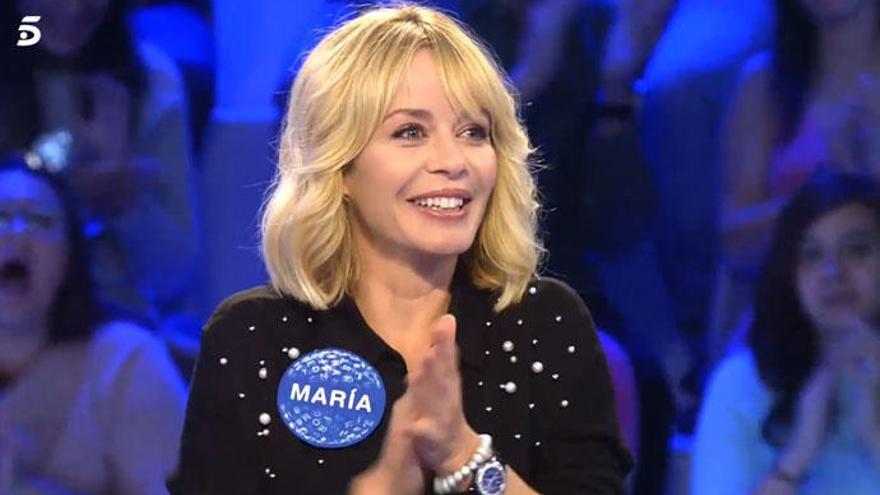 'Pasapalabra' hace llorar a María Adánez