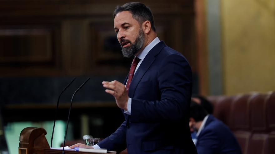 """La Asamblea de Ceuta declara a Santiago Abascal """"persona non grata"""""""