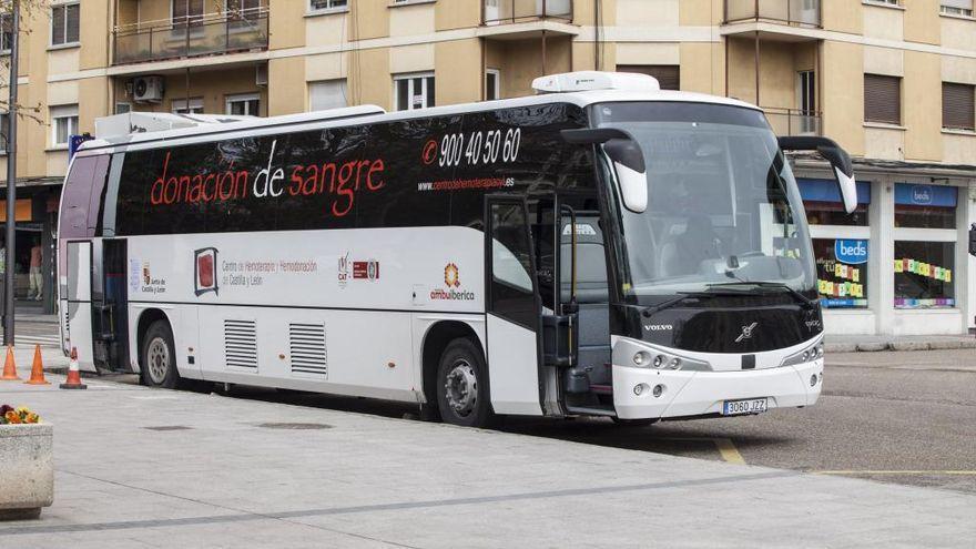Cinco colectas de los donantes de sangre para lo que queda de mes en Zamora