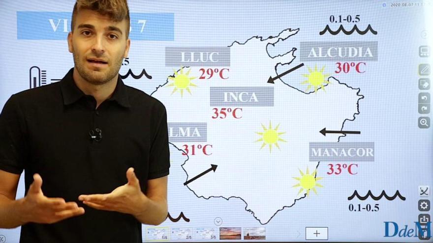 El tiempo del fin de semana en Mallorca: Sol y temperaturas en ascenso