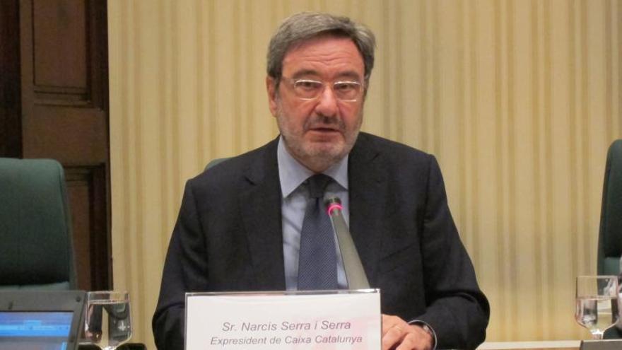 Narcís Serra afirma que el juicio sobre el agujero de Catalunya Caixa acabará bien