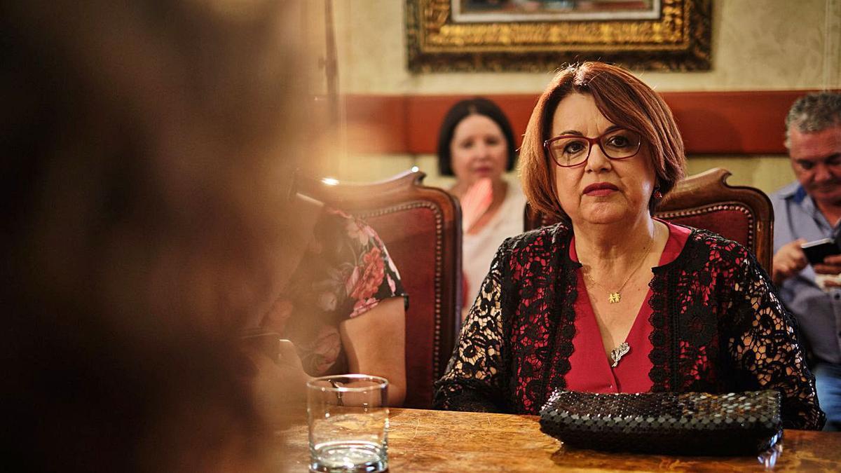 Josefa Mesa, alcalde de Guía de Isora. | | ANDRÉS GUTIÉRREZ