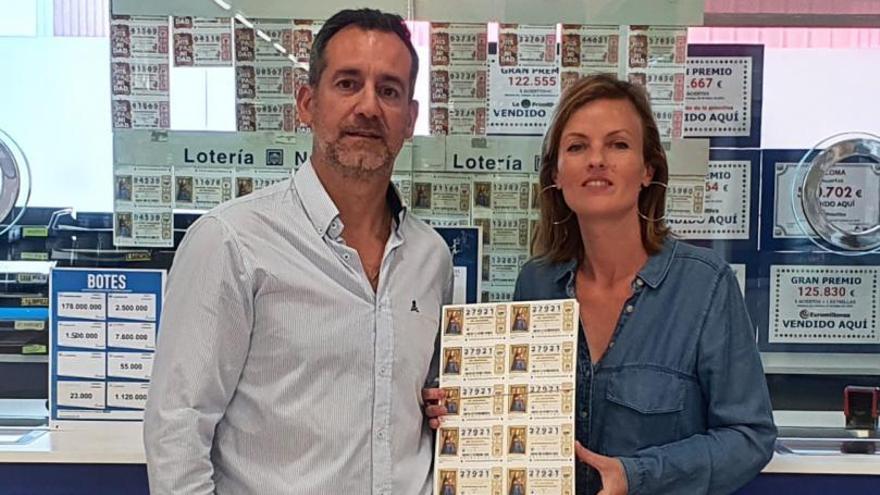 Se dispara en Alzira la venta de lotería con la fecha de la erupción volcánica
