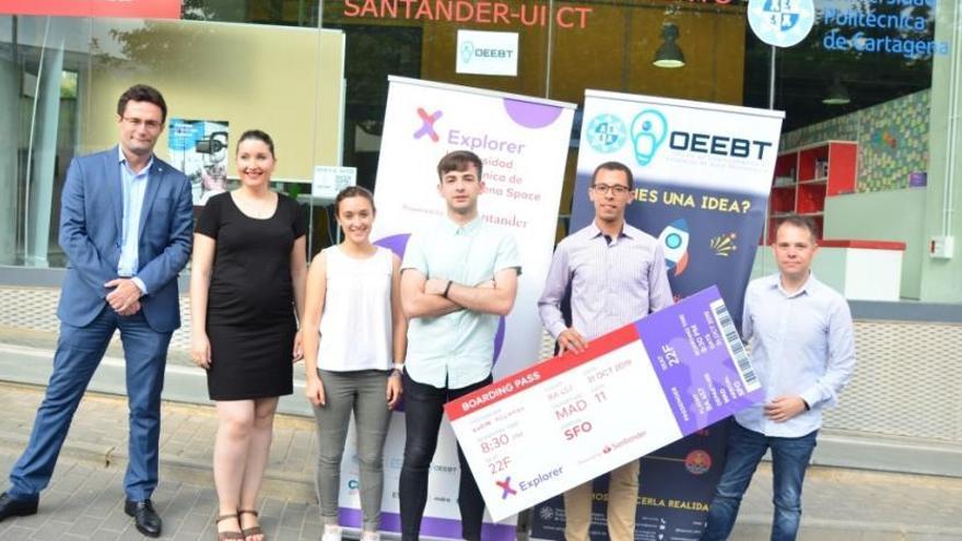 Un proyecto para geolocalizar abejas reina gana el UPCT Explorer Space