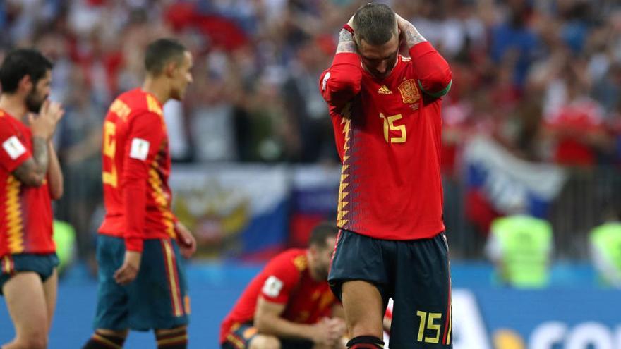 Sergio Ramos: «Com a capità estic orgullós perquè ho hem donat tot»