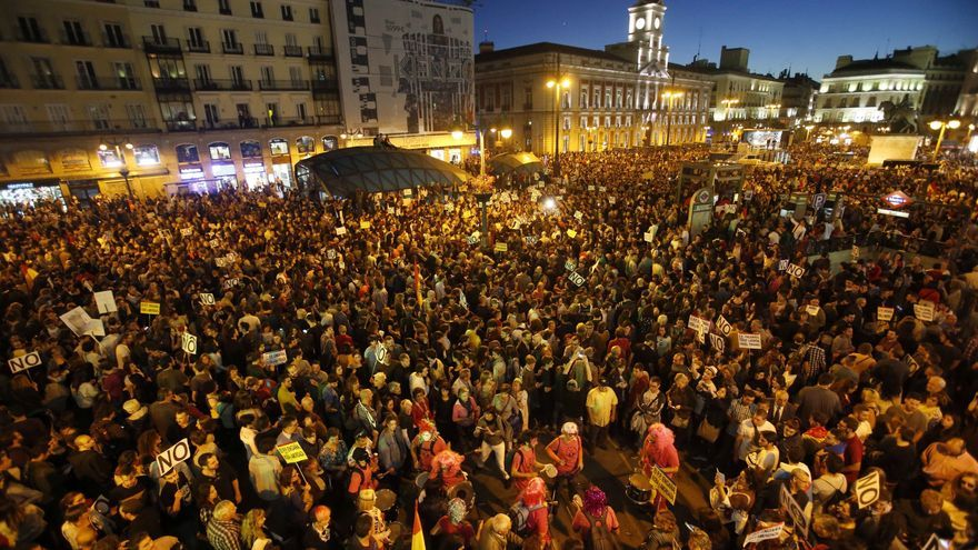 La Fiscalía pide hasta siete años de cárcel para los detenidos por el Rodea el Congreso de 2012