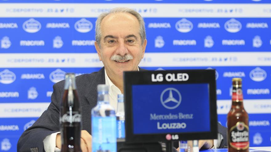 """Couceiro garantiza la continuidad del Deportivo ante """"la situación más delicada de su historia"""""""