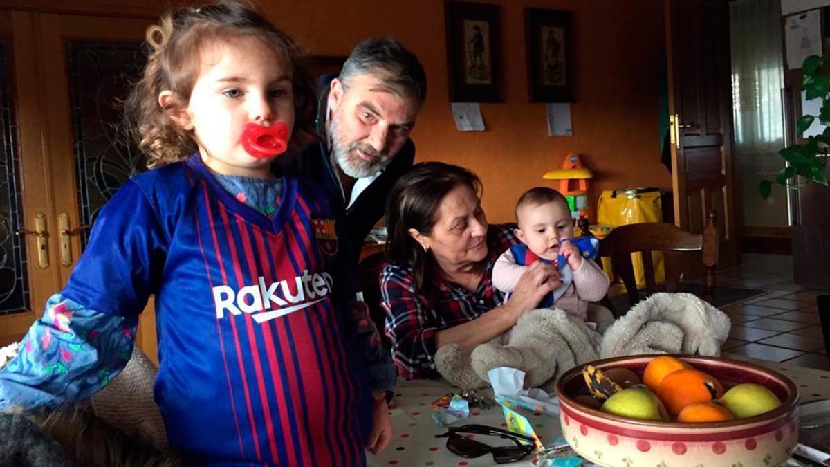 Juan José Mariño sembró su simpatía por el Barcelona entre los miembros de su familia.