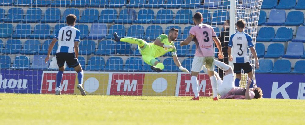 El Hércules desperdicia la ocasión y no pasa del empate ante el AE Prat