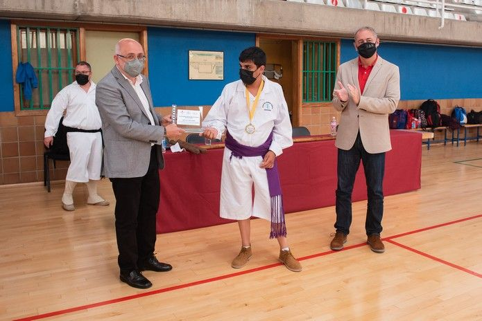 I Campeonato de Lucha del Garrote Adaptada de Gran Canaria