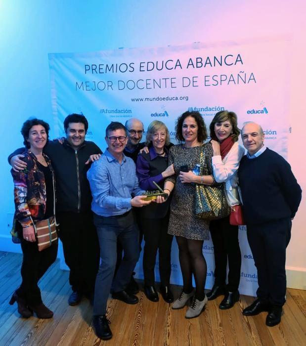 Premio al mejor docente, que da clase en Alicante