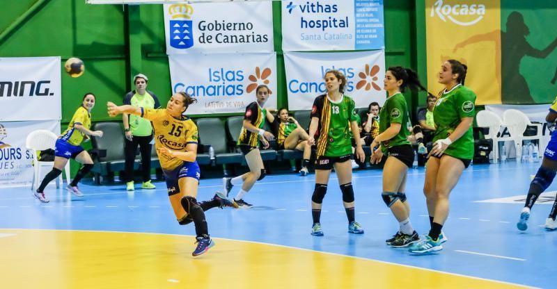 Las Palmas de Gran Canaria. Balonmano: Rocasa-castellón    01/05/2019   Fotógrafo: José Carlos Guerra