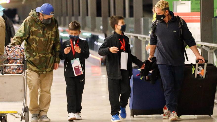 Nacho Palau, de nuevo con sus hijos tras el viaje de los pequeños a México con Miguel Bosé