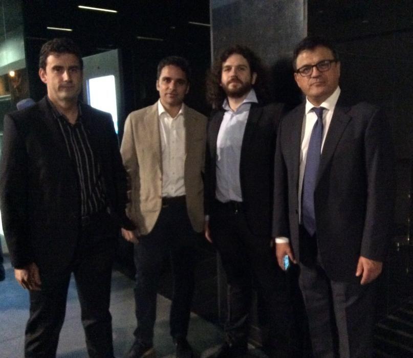 Los miembros de la sección de Deportes del Diario INFORMACIÓN