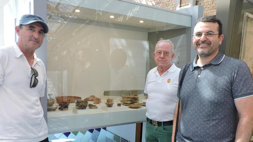 Donan al Museu de la Mar de Dénia 81 cerámicas del siglo I a. C. de un navío romano hundido
