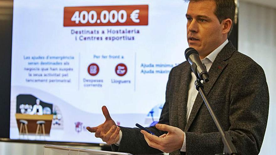 Xàtiva lanza ayudas por 400.000 € para centros deportivos y hostelería