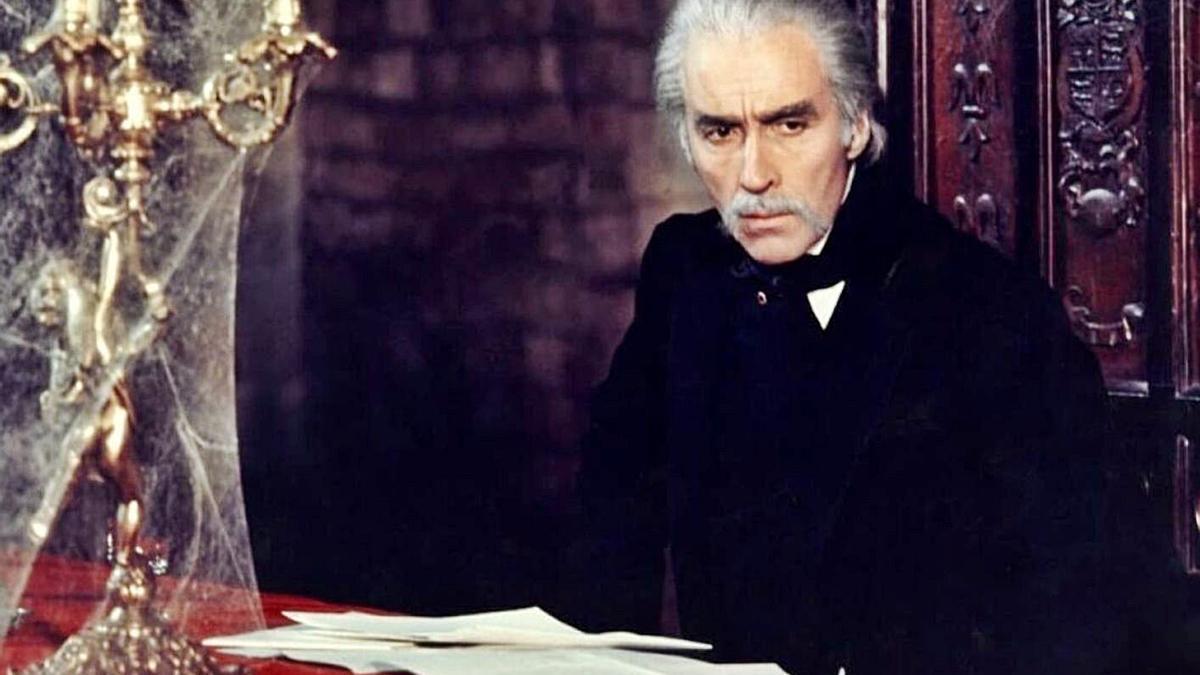 Cristopher Lee en 'El Conde Drácula' (1970).   LO