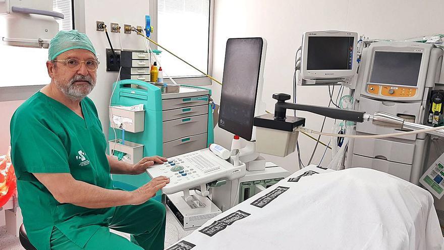 Un ecógrafo pionero acelera el diagnóstico del cáncer en el Hospital General de Elche