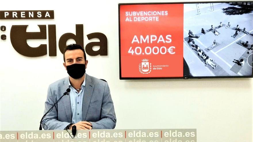 El Ayuntamiento de Elda ofrece 40.000€ en subvenciones a las AMPA