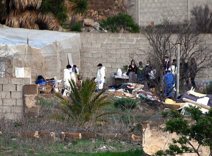 La Policía busca el cadáver de una mujer en Gáldar
