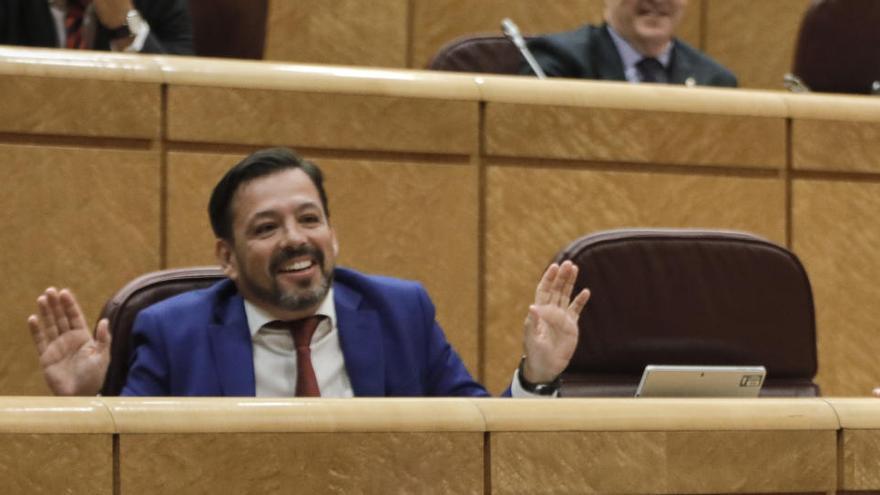 El senador del PP David Erguido renuncia a su escaño tras ser citado por la 'Púnica'