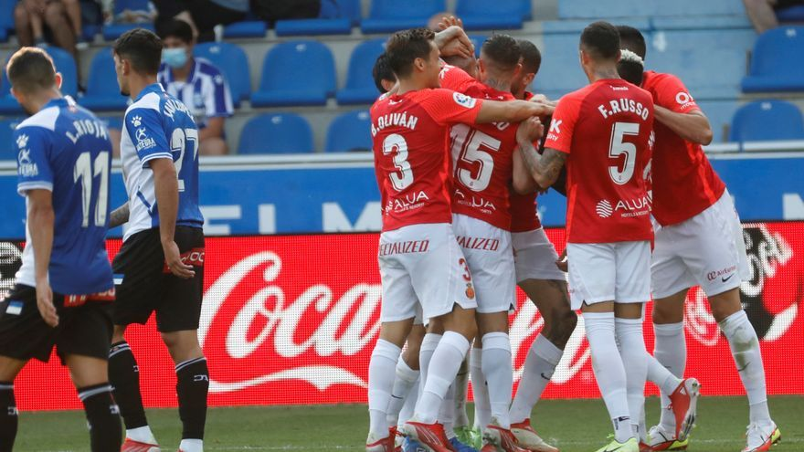 El Mallorca supera al Alavés a domicilio