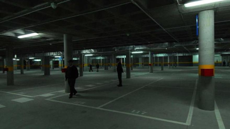 La Mayacina suma 170 plazas sin uso de garajes públicos, la mayoría sin estrenar