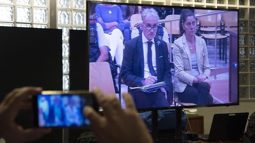 El fiscal: 'Como actor, el padre de Nadia hubiera tenido más éxito que en estas lides'