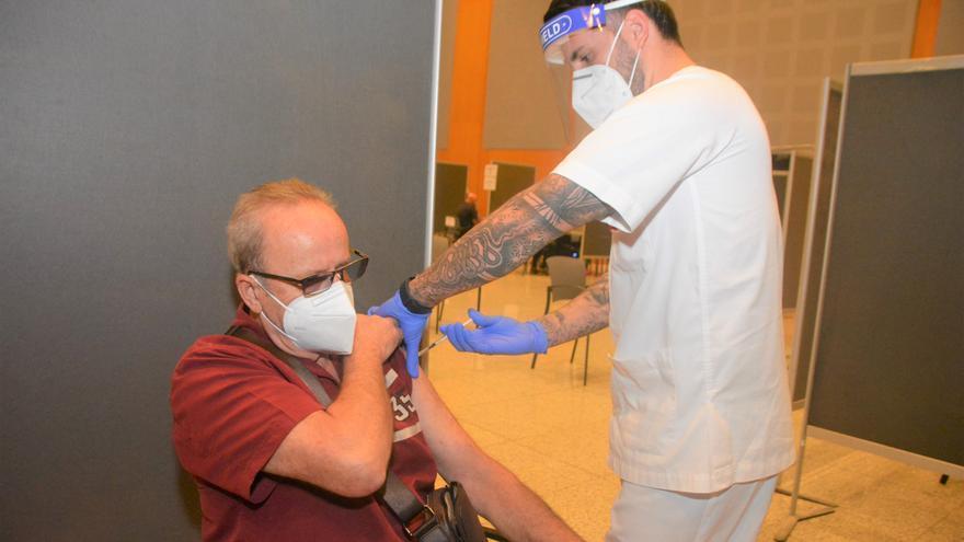 Vacunación en Expomeloneras (05/04/21)