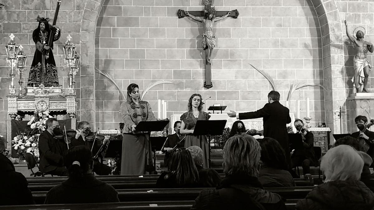 El concierto tuvo lugar en la iglesia gótica de Xàbia