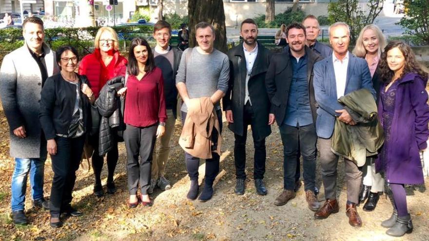Alcoy participa en la reunión del comité ejecutivo de la Xarxa FP en Múnich