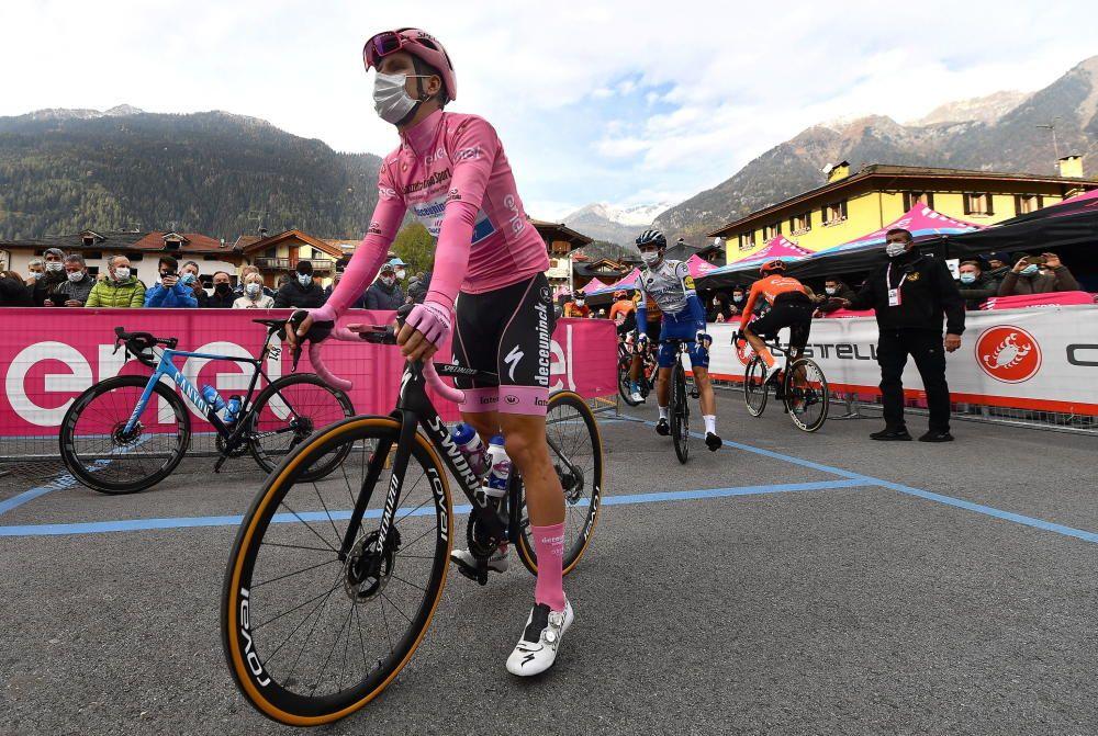Las imágenes de la 18ª etapa del Giro de Italia