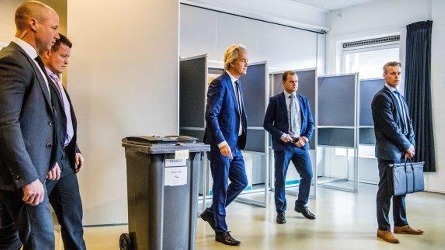 L'efecte Wilders dispara la participació a Holanda