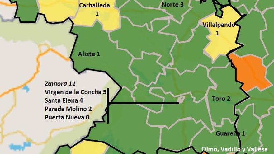 Cuatro nuevos contagios COVID en Zamora, aunque sin nuevos brotes