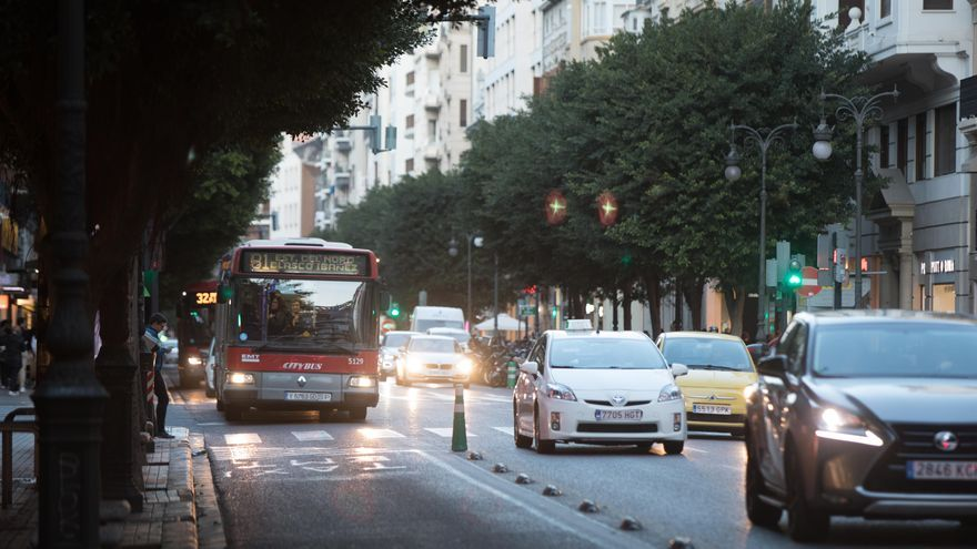 València es la cuarta ciudad más atascada de España