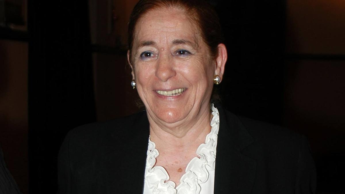 Doña Ana, la madre de Isabel Pantoja, en una imagen de archivo.