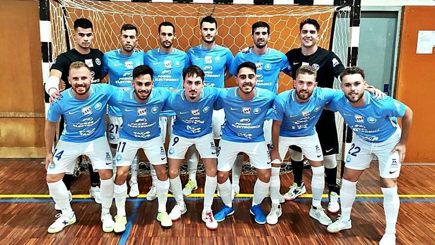 La UD Ibiza-Gasifred abre la Liga sumando un punto