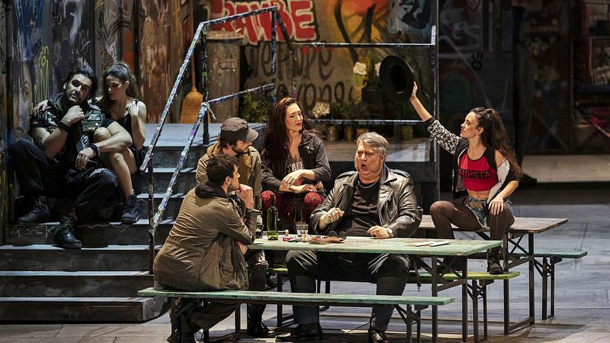 """Les Arts suspende """"Falstaff"""" por casos de coronavirus en el equipo de la ópera"""