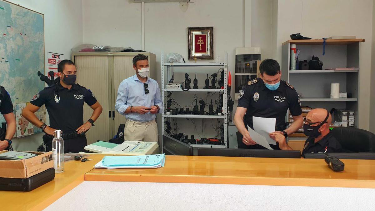 La Policía Local de Caravaca ha puesto más de 200 sanciones durante el Estado de Alarma