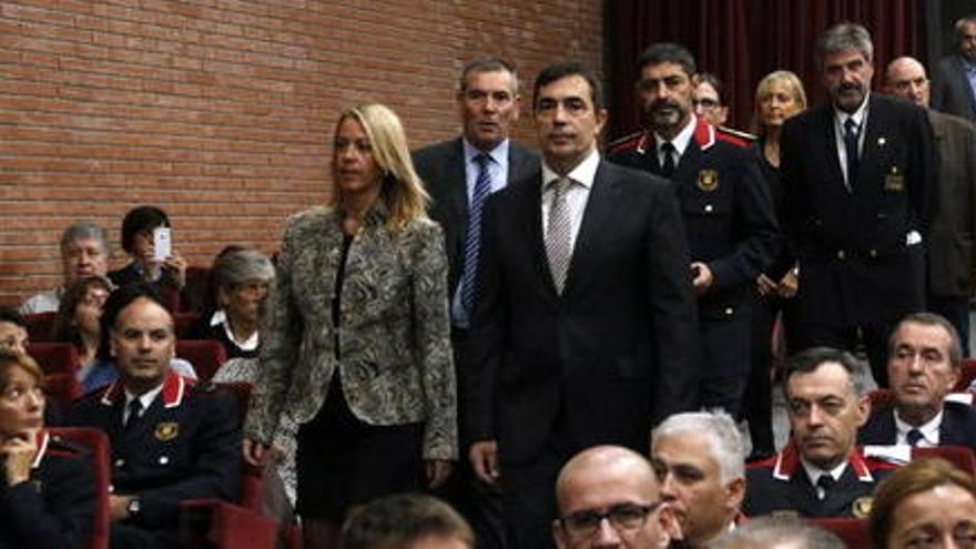 Pere Soler s'acomiada dels Mossos després de ser destituït pel govern espanyol