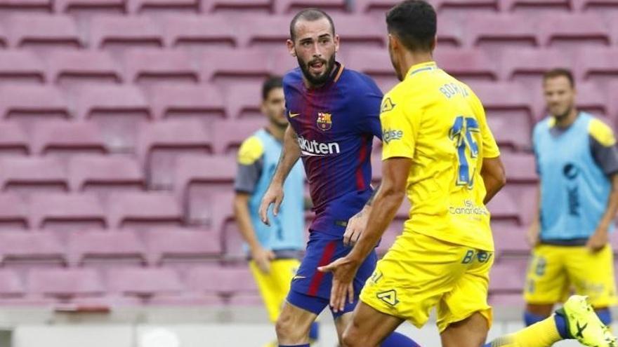 El FC Barcelona traspasa a Aleix Vidal al Sevilla