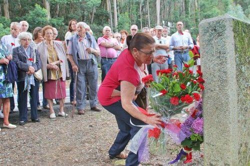 Homenaje en Cangas a los mártires de Anguieiro