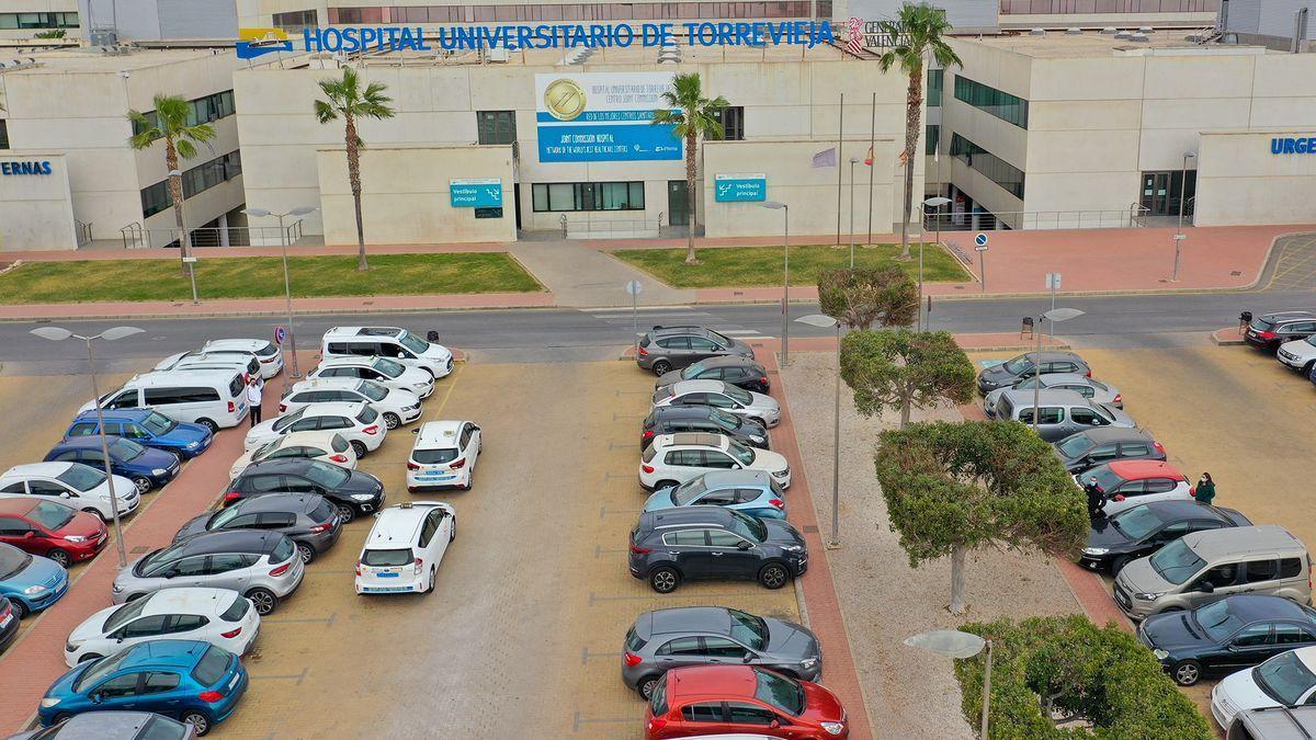 Aparcamiento del Hospital de Torrevieja